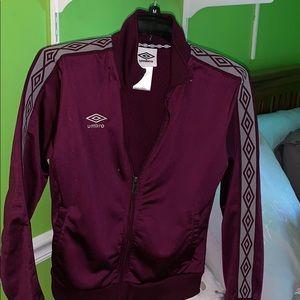 Umbro Burgundy track jacket